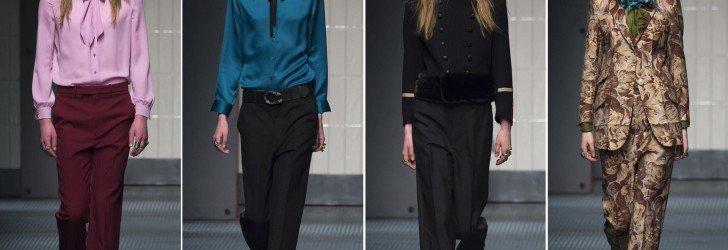 Женские брюки осень 2015