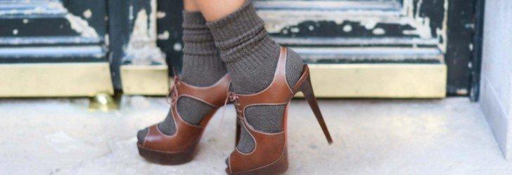 Миниатюра с открытой обувью