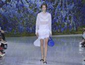 Показ весенней коллекции Dior