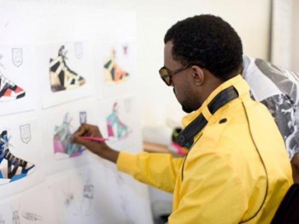Канье Уэст разрабатывает кроссовки для Louis Vuitton