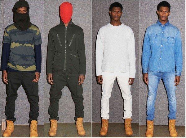 Коллекция одежды от A.P.S. и Канье Уэста