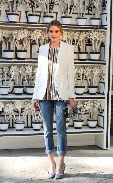 Оливия Палермо на праздновании новой коллекции от Jimmy Choo