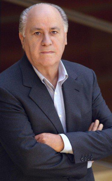 Основатель компании Inditex Амансио Ортега Гаона