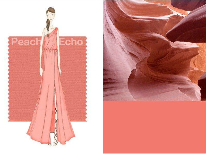 Персиковый - Peach Echo