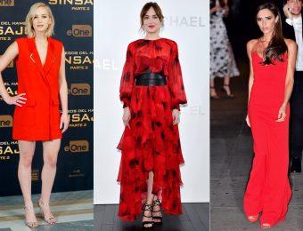 8 способов выглядеть стильно, надев красное платье