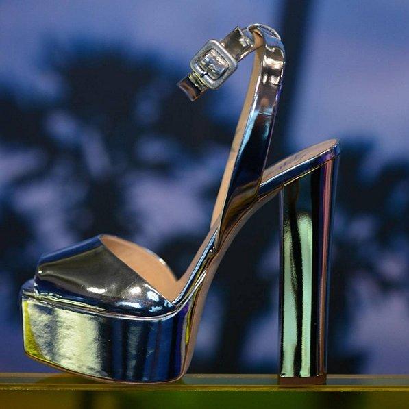 Mirror Platform Sandal