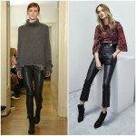 Кожаные брюки от Hunkydory и Iro