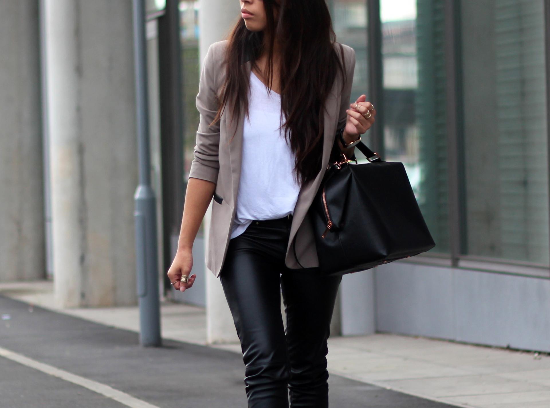 штаны кожаные фото
