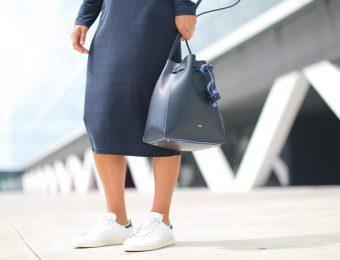 Сочетаем платья и кроссовки: 5 беспроигрышных вариантов
