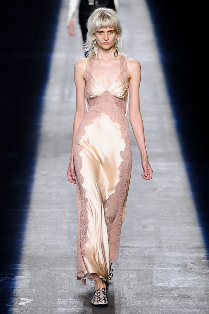 Платье-комбинация из коллекции Alexander Wang