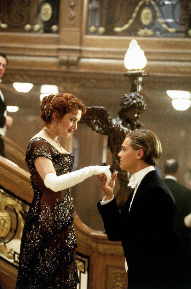 Роза и Джек из «Титаника»