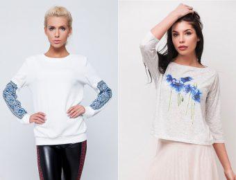 Модные в 2017 году женские свитшоты — модели на любой вкус