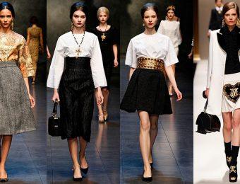Длинные и короткие юбки-клеш — модный тренд 2017 года