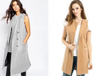 Пальто без рукавов для женщин: классика и современность слились в одно