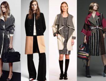 Модные женские пальто на весну 2017 года (100 фото)