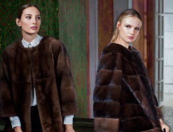 Модные меховые пальто 2016
