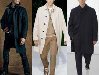 Какие пальто выбирают стильные мужчины?