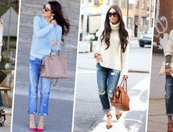 Какую обувь стильно носить с джинсами в 2017 году?