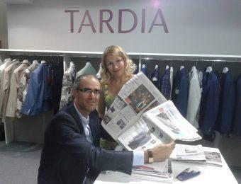 Встреча с Пьеро Тардиа на Pitti Uomo 88