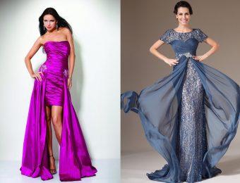 Модные вечерние платья на выпускной вечер 2017 года