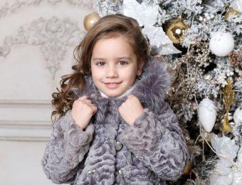Модные детские шубы 2017 года: оригинальные модели на фото