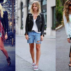 мода джинсовые шорты