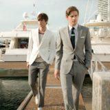 Мужчины на пристани