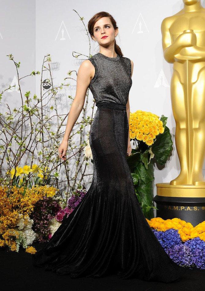 Эмма Уотсон в платьеотVera Wang