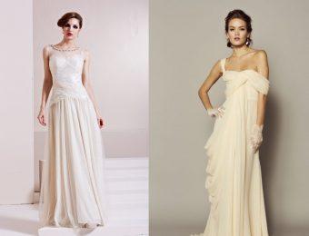 Обзор свадебных платьев в стиле ампир