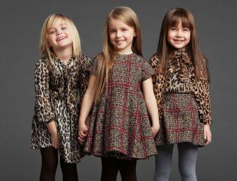 Стильная и необычная детская мода сезона осень-зима 2016-2017 года