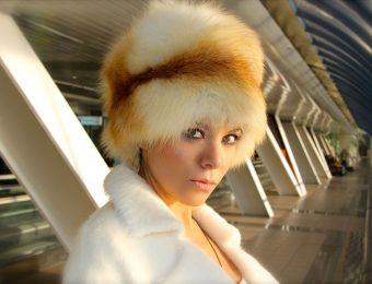 Удивительно теплая меховая шапка малахай