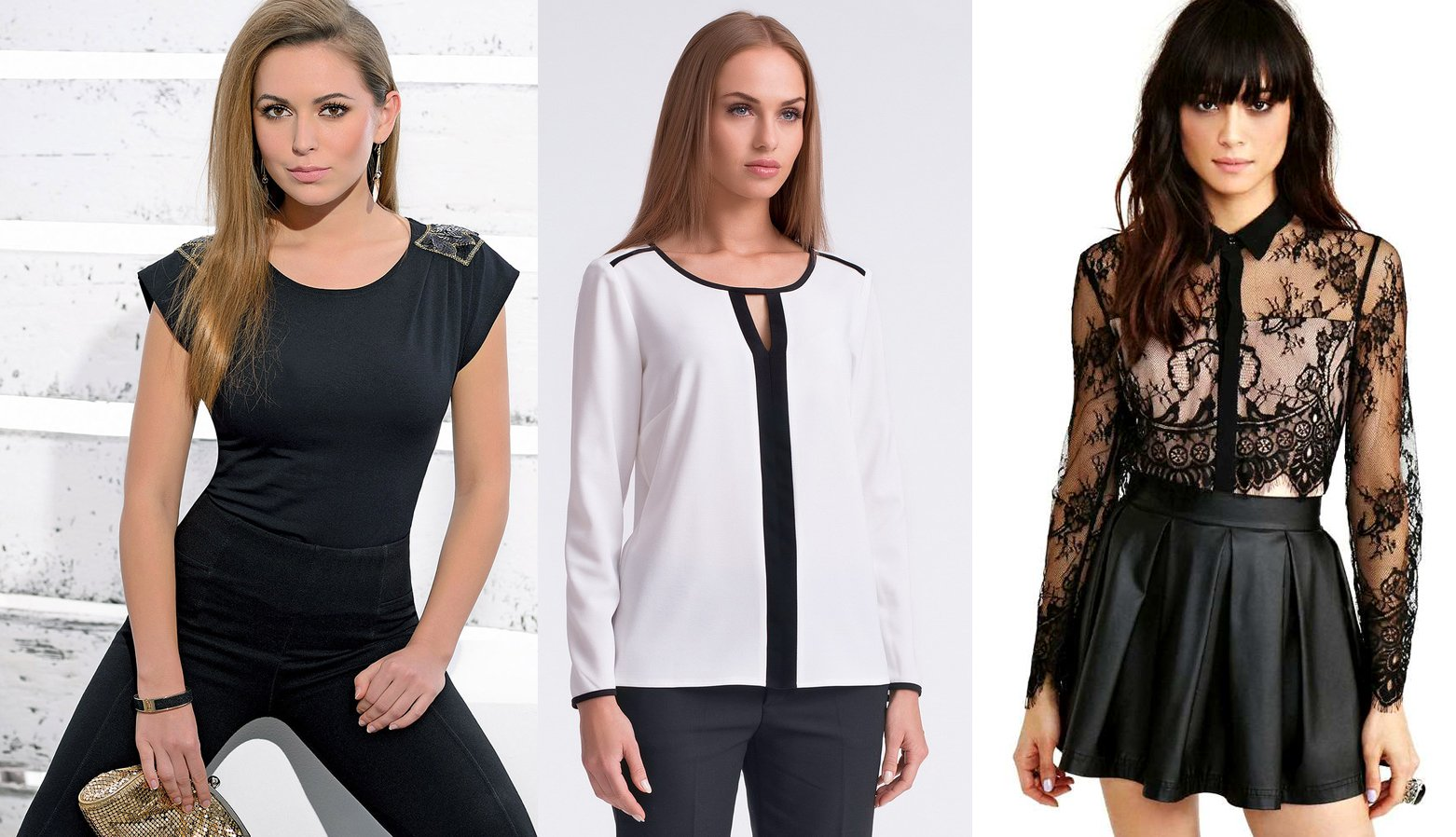 ff661d7324c Шифоновые блузки на 2017 год - модные новинки с фото