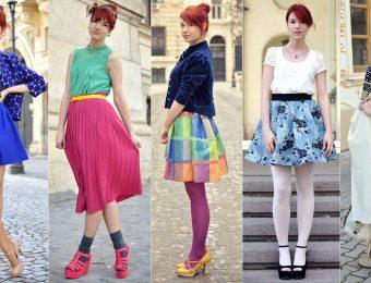 Красивые и яркие модные юбки на осень 2016 года