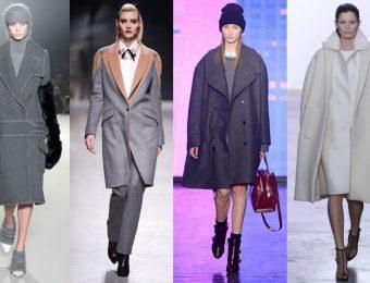 От крайности – к крайности: модные зимние женские пальто 2016 года