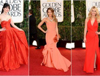 Прекрасные красные вечерние платья 2017 года