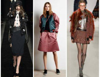 Модные теплые куртки для женщин на осень 2017 года