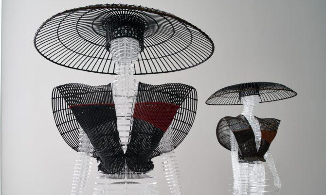 Шляпы от Иссея Мияке
