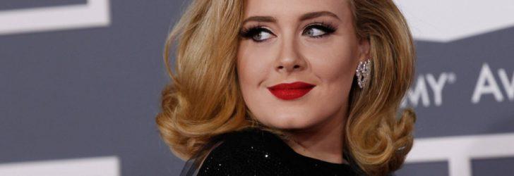 Адель на вручении премий Grammy
