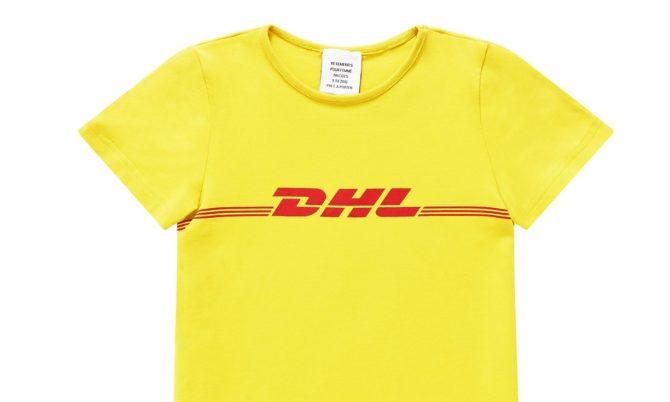 Футболка DHL от Vetements