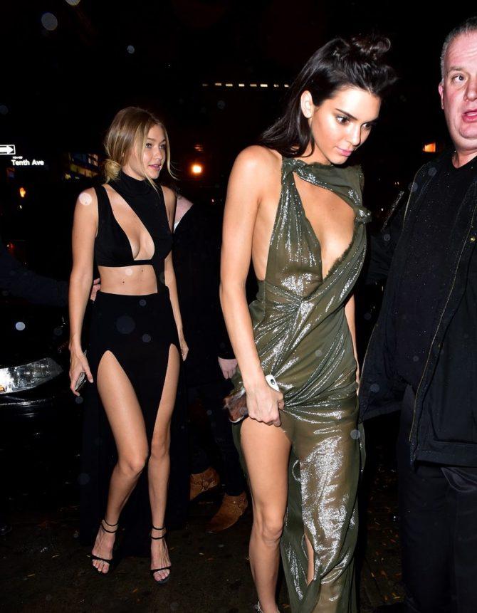 Модели на вечеринке Victoria's Secret