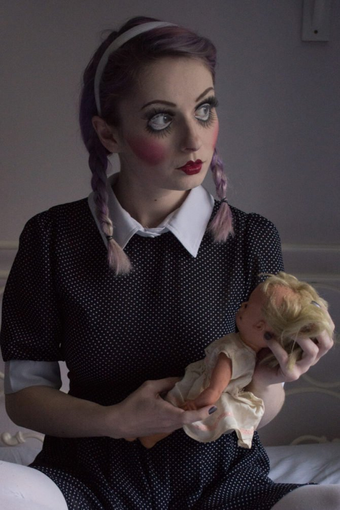 Образ страшной куклы