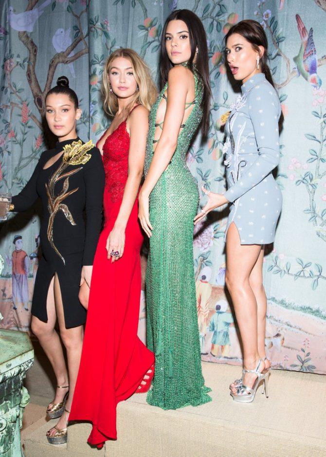 Модели на открытии Нью-Йоркской недели моды