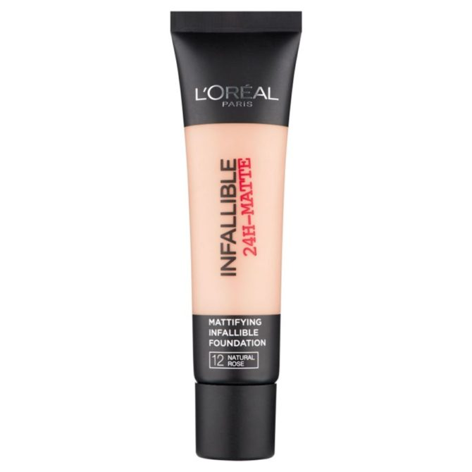 L'Oréal Paris Infallible 24H-Matte Mattifying Foundation