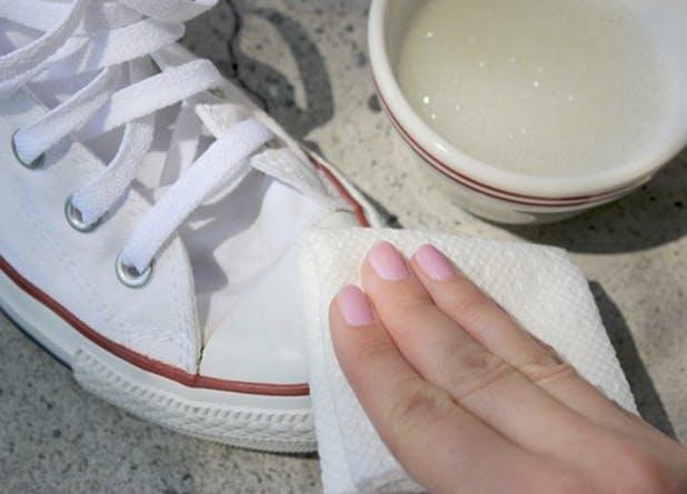 Как чистить кеды