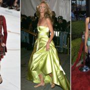 Модель и знаменитости в шлёпках