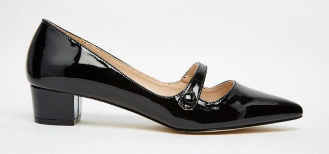 Туфли в стиле Мэри Джейн