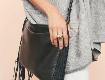 Сумка с бахромой — модный тренд 2017