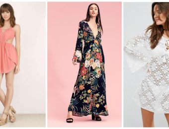 Романтические и практичные летние пляжные платья 2019-2020 года