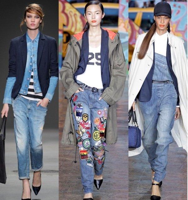 джинсы в 2017 году