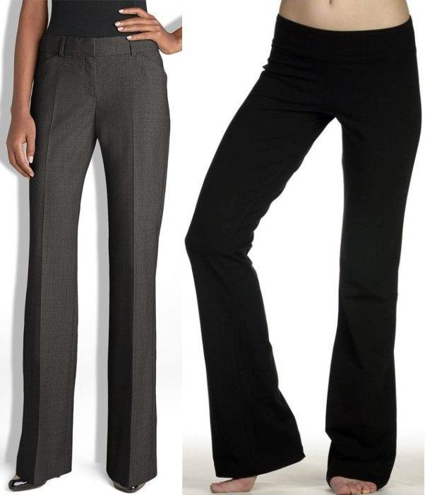 зимние женские брюки на фото